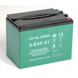 Chilwee 6-EVF-52 Гелевый тяговый аккумулятор