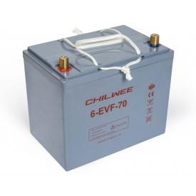 Chilwee 6-EVF-70 Гелевый тяговый аккумулятор