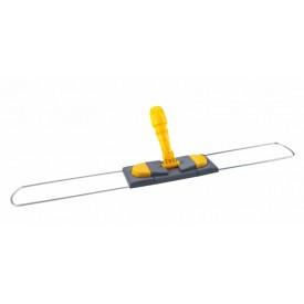 CD188-Y Держатель мопов рамочный, 80х10 см, 2 педали, металл, желтый