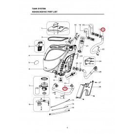 Всасывающий шланг для Viper AS430, AS510
