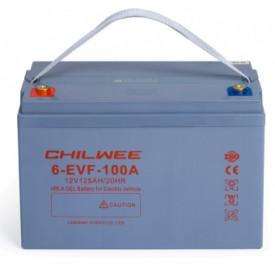 Chilwee 6-EVF-100A Гелевый тяговый аккумулятор