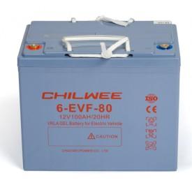 Chilwee 6-EVF-80 Гелевый тяговый аккумулятор